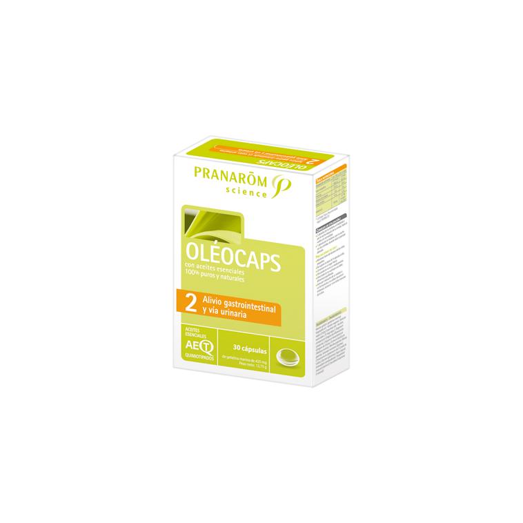 Oleocaps 2 alivio gastrointestinal 30cap