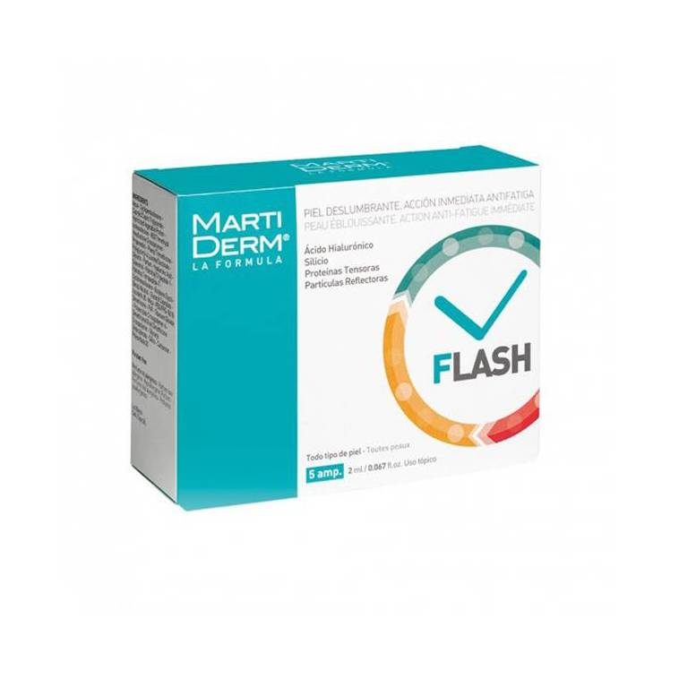 Martiderm Ampollas Flash 5 unidades