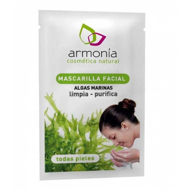 mascarilla facial limpiadora con Algas Armonia