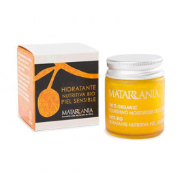 Matarrania Crema Hidratante Nutritiva Bio Piel Sensible 30ml