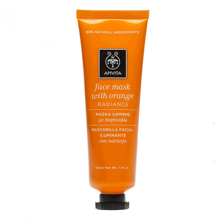 Apivita Mascarilla facial revitalizante con naranja 50ml