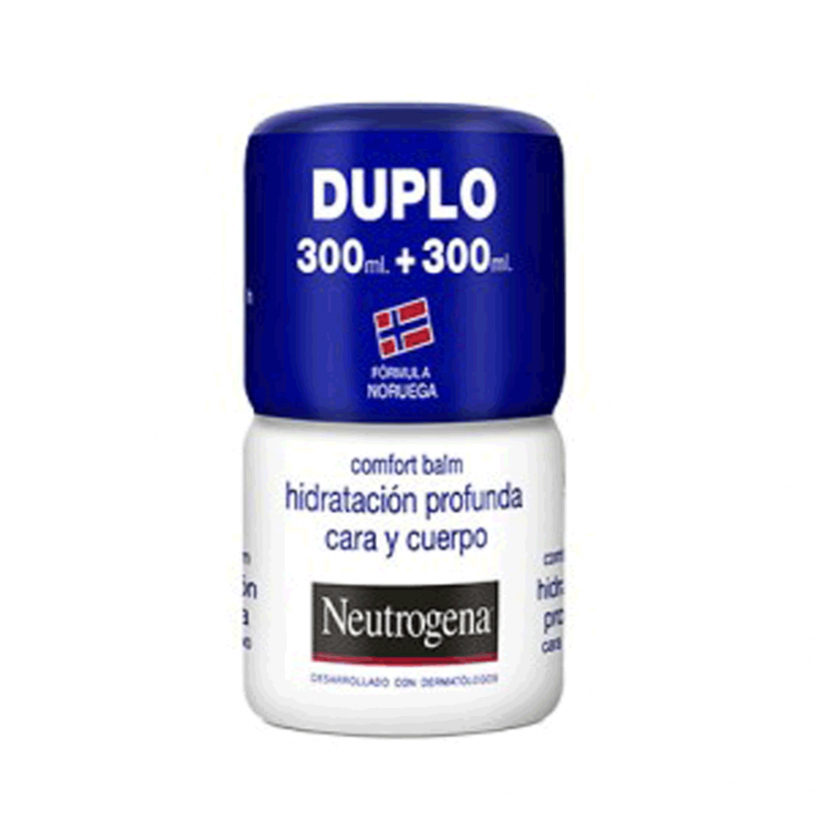 Neutrogena Duplo Crema Cara y cuerpo Hidratación Profunda 300ml