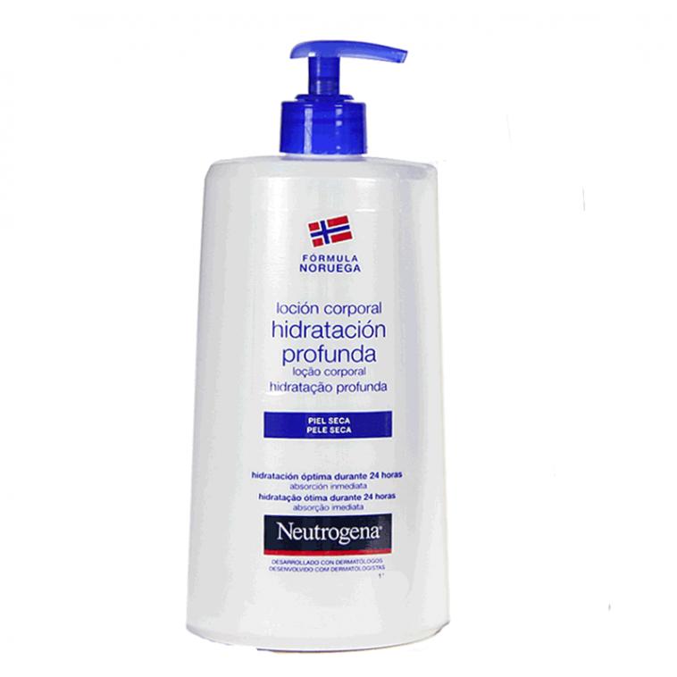 Neutrogena Duplo Loción Corporal Hidratación Profunda 750ml