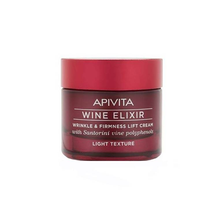 Apivita Wine Elixir Crema Natural de Dia Anti-arrugas spf15 50ml