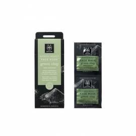 Mascarilla Limpiadora de Arcilla Verde Apivita