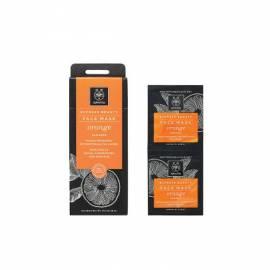 Apivita Mascarilla Natural Revitalizante de Naranja Express Beauty 2x8ml