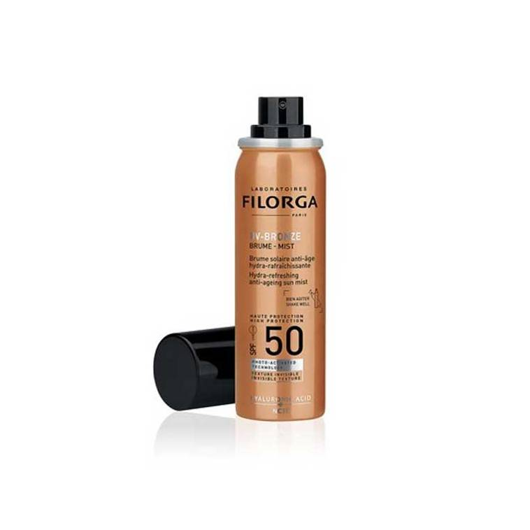 Filorga UV Bronze Brume-Mist SPF50: bruma antiedad e hidratante