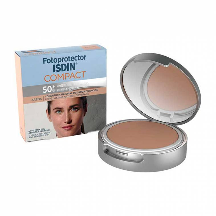 Maquillaje Compacto Fotoprotector Isdin Compact SPF50+