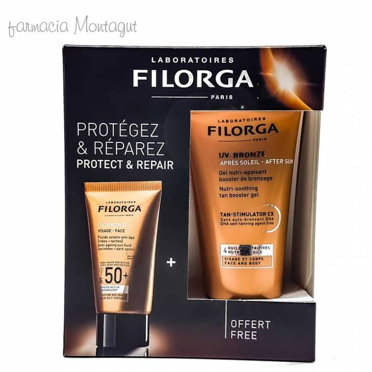 Filorga Pack UV-Bronze Rostro + After Sun Antiedad