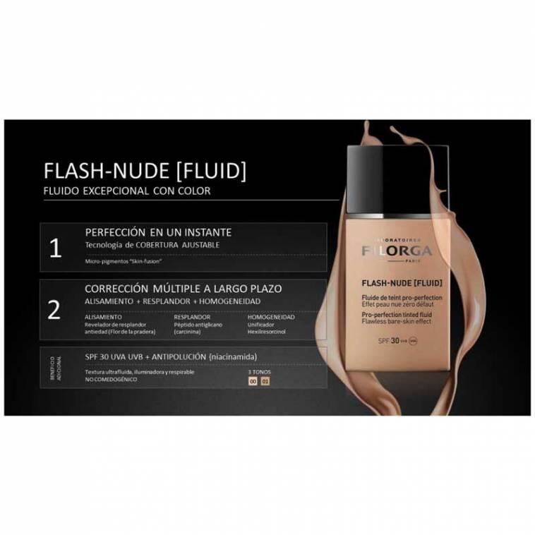 Filorga Maquillaje Fluido Flash-Nude