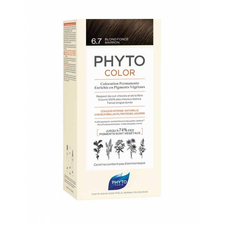 phytocolor 6.7 Rubio Oscuro Marron