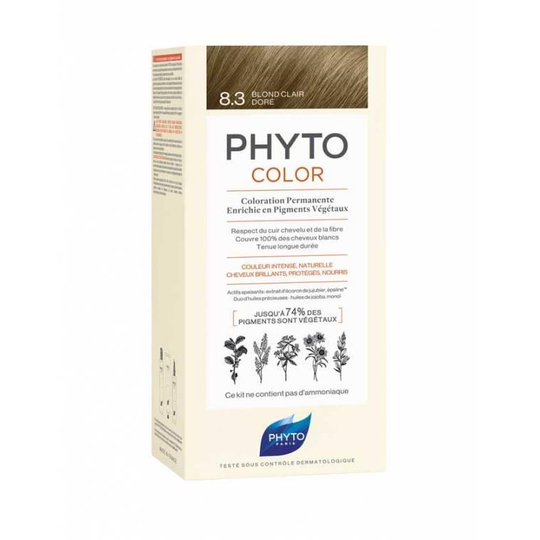 phytocolor 8.3 Rubio Claro Dorado