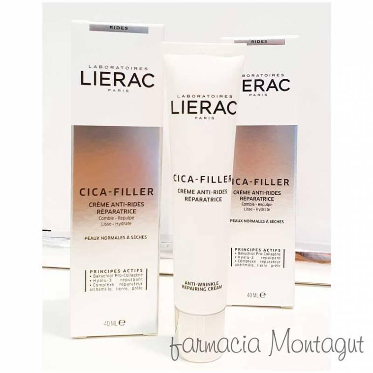 Lierac Crema Antiarrugas Reparadora gama Cica-Filler