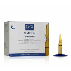 Martiderm Platinum NIght Renew Ampollas