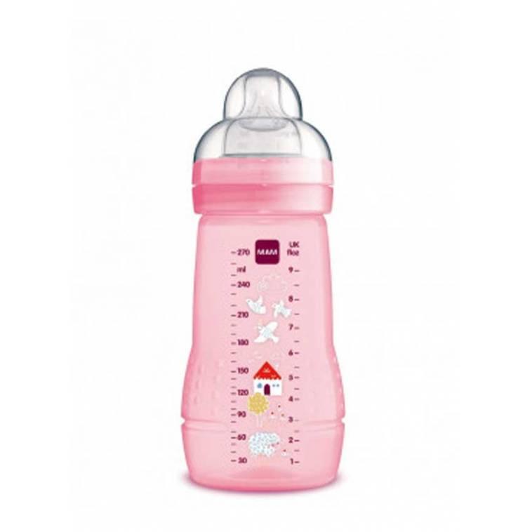 Mam Baby Biberón Baby Bottle tetina silicona +2m 270ml