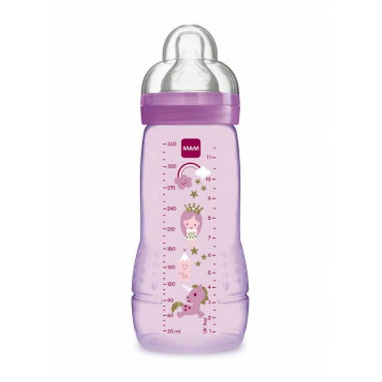 Mam Baby Biberón Baby Bottle silicona +4m 330 ml