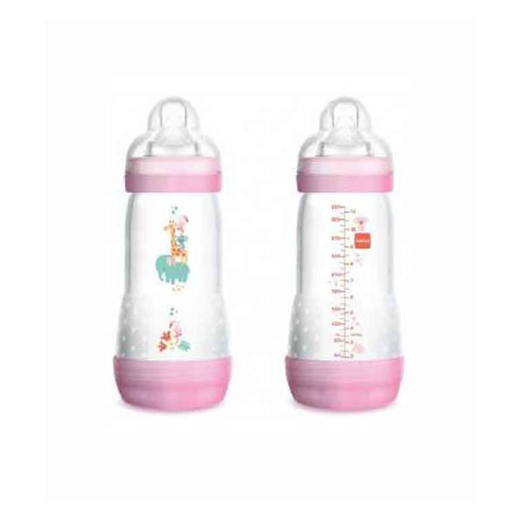Mam baby duplo de Biberones Anticolico Autoesterilizable 0+m