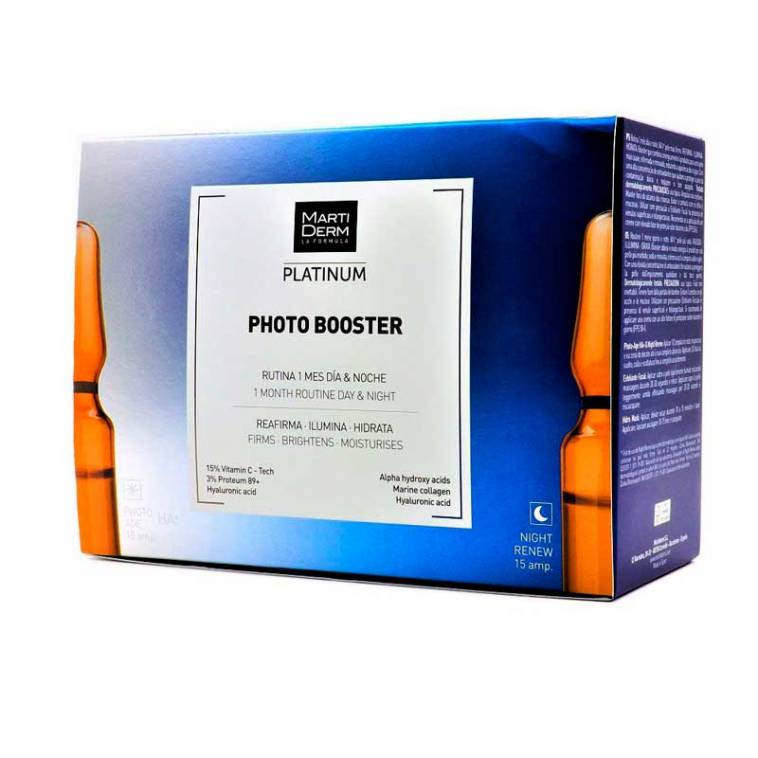 Martiderm Photo Booster platinum Ampollas