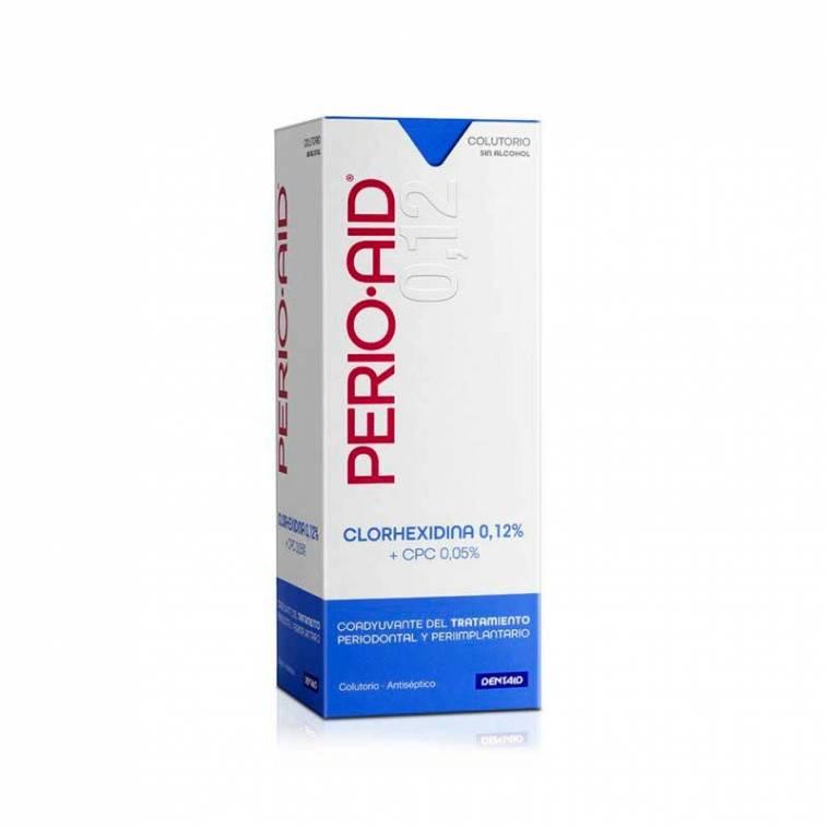 Perio Aid Tratamiento Colutorio Coadyuvante CHX 0,12% + CPC 0,05%