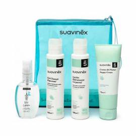 Suavinex kit viaja mini tallas esenciales baby care + neceser