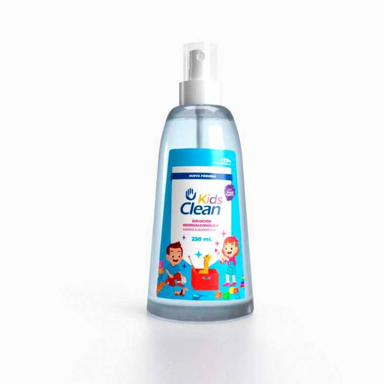 Kids Clean Spray Hidroalcoholico