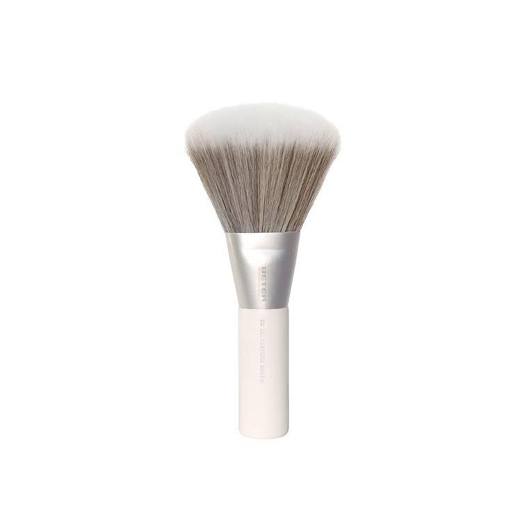 Brocha Multifunción de Maquillaje Pelo de Cabra y Sintético