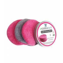 ecotonet discos desmaquillantes algodón-bambú
